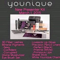 March 2015 New Presenters Kit. All this for $99. Join my team today! www.livelashluv.life