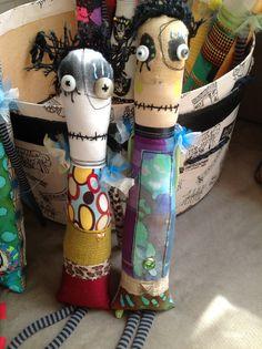 May 2014 snotnormal dolls / 2 monster dolls