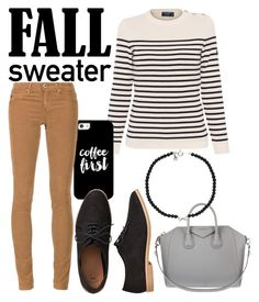 """""""Sweaters everyday in Fall"""" by mac24 ❤ liked on Polyvore featuring Saint James, Casetify, AG Adriano Goldschmied, Gap, Givenchy, fallsweaters and Fall2016"""