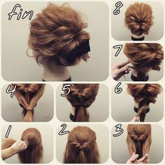 Hair Updos for Short Hair