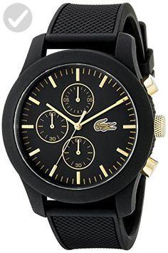 2c65416750 Lacoste Men's 2010826 12.12 Analog Display Quartz Black Watch - Mens world  (*Amazon Partner-Link)