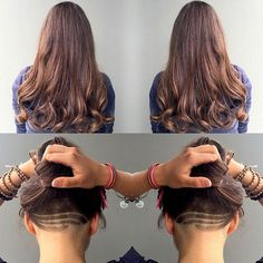 Hidden Undercuts | Modern Salon