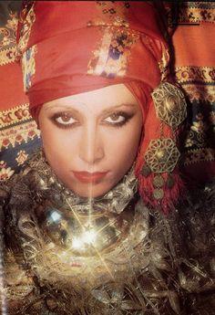 1973 // Trending : Turbans // 1969 & 70's Boho Rockstar Street + Stage Style // The Jet Set // Glam Bohemian Mashup // Designer Fashion Ideas + Inspiration