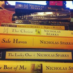 What would I do without Nicholas Sparks?!