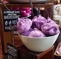 Lush French Kiss bubble bars.