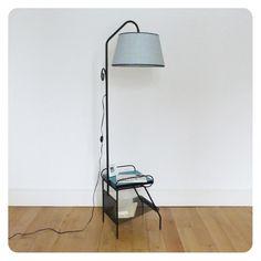 Lampe liseuse vintage -