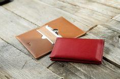 3120 Slim Bifold Card Wallet Buttero by HEVITZ on Etsy