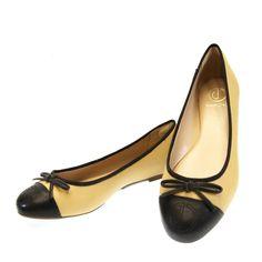Sapatilha Dumond Caramelo/Preto 2601 by Moselle | Moselle calçados finos femininos! Moselle sua boutique de calçados online.
