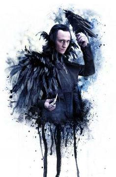 Loki is the Raven King