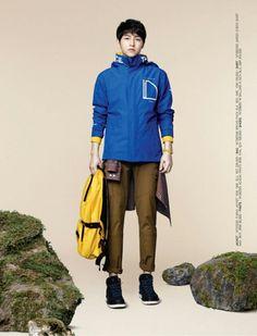 Song Joong Ki for The North Face