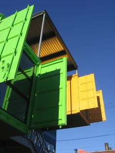 Joe Haskett Box Office Shipping Container Project