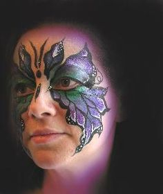 Another facepainting example teens would love