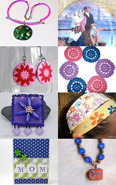 Gifts for Mom: A Handmade and Vintage Collection by Ludy on Etsy--Pinned with TreasuryPin.com