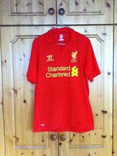 Liverpool Football Club Jerseys · Liverpool Football Club Home Jersey 2012  - 2013 Medium Adult Warrior Liverpool Football Club 128db917a