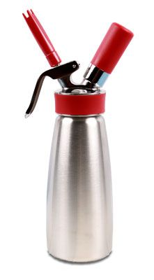 iSi 1 Pint 100 % Stainless Whip Cream Dispenser Gourmet. Or some other stainless one... $89.00