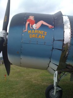 "Nose Art ""Marines Dream"""
