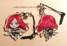 Reversible League of Legends charm Katarina the by complexwish