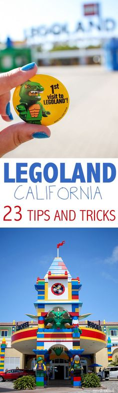 LEGOLAND Tips and Tricks - 23 tips for visiting LEGOLAND California