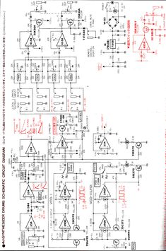 MFOS LFO schematic using TL074 ICs and 2N3904 transistors | Synth ...