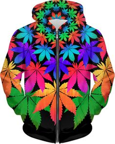 Rainbow Cannabis Leaves Hoodie 2 https://www.rageon.com/products/rainbow-cannabis-leaves-hoodie-2?s=ios&aff=HwtT Made with #RageOn