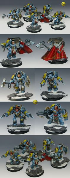 40k - Space Wolf Wolf Guard Terminator Squad