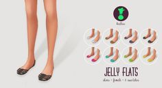 JELLY FLATS at Kedluu via Sims 4 Updates
