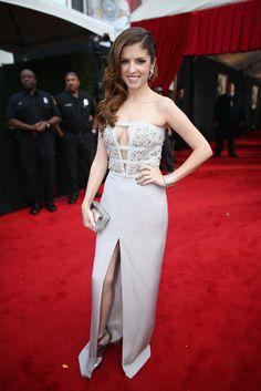 Anna Kendrick | Fashion On The 2014 Grammy Awards Red Carpet