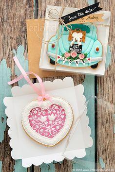 Galletas para una boda Boho-Chic | Cookies for a Boho-Chic wedding