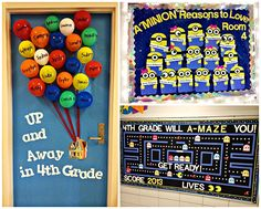 Clever+Back+to+School+Bulletin+Board+Ideas