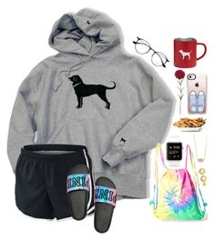 ~my coffee is cold☹️~ by taybug2147 ❤ liked on Polyvore featuring NIKE, Colortone, Kendra Scott, Ray-Ban, Casetify and kitchen