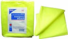 DUKAL Emergency Blanket Yellow Heavy Duty Fluid Impervious 50Ca DUK7303 -- You can find more details by visiting the image link.