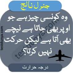 IQ Questions with Answers in Urdu find brain questions with their answers learn mind questions and answers in Urdu and Hindi let us check how much genius you are if you answer the given questions. Question And Answer, This Or That Questions, Knowledge, Mindfulness, Let It Be, Learning, Brain, Check, The Brain
