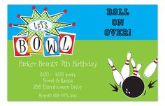 Mini golf invitation boys birthday party ideas pinterest golf lets bowl invitation filmwisefo Choice Image