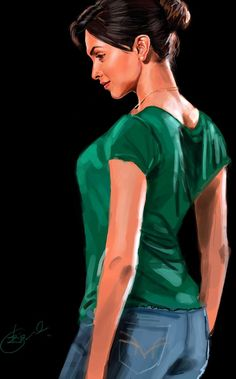 Pose - Digital Art by Kiran Kumar in Digital Paintings at touchtalent 12861