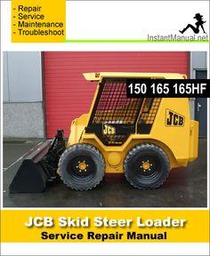 Download JCB Robot 150 165 165HF Skid Steer Loader Service Repair Manual