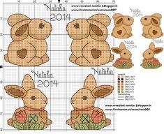 il nuovo coniglio Thun,h 35nomi: Claudio, Edoardo, Chiara, Aurora, Manuel.