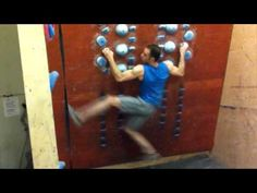 Climbing Workouts - Drills and Exercises - Movement Training in System Wall - YouTube