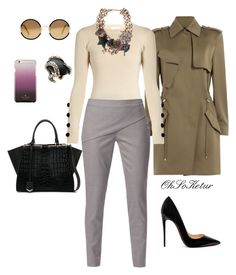 """Handling business"" by ohsoketur on Polyvore featuring Alexander Wang, See by Chloé, WtR London, Christian Louboutin, Fendi, Marc Jacobs, Roberto Cavalli, Sunday Somewhere and Kate Spade"
