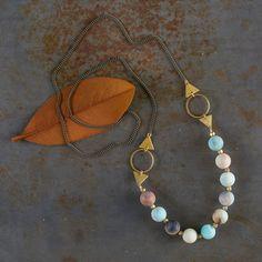 Amazonite Elements Necklace | Shop P. Allen
