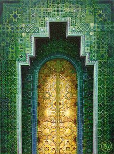 Inspirational images of Arabic doors were the source for The Room of Dreams at Talliston.