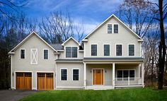 farmhouse modular | modular version of a colonial-era home styled after a New England ...