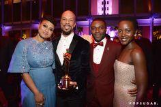 Pin for Later: Die 55 besten Bilder der Oscars 2015 Ava DuVernay, Common, David Oyelowo und Lupita Nyong'o