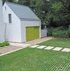more open cell pavers! Want to do this with moss for my driveway instead of the mud mess I have now