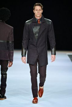 #Menswear #Trends  Naked Ape by Shaldon Kopman Winter 2015 #Tendencias #Moda Hombre