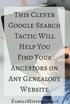 Genealogy Tips: Find hidden genealogy record collections on FamilySearch with this trick. This free genealogy research site can help you grow your family tree fast.