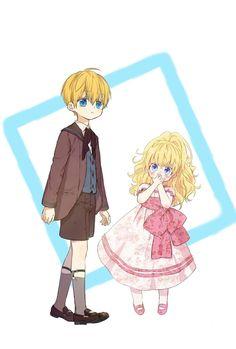 Anime Siblings, Anime Child, Girls Anime, Anime Couples Manga, Manga Anime, Anime Art, Anime Princess, My Princess, Manga Collection