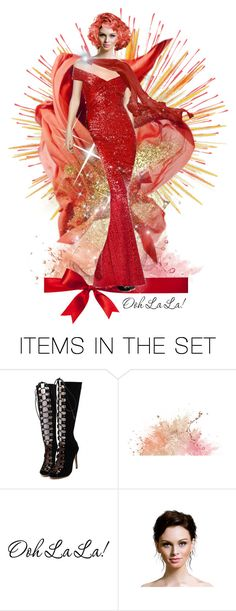 """The New Year--Ooh La La!"" by jlgoodman ❤ liked on Polyvore featuring art"