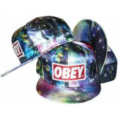 Buy Obey Galaxy Snapbacks Colors wholesale cheap snapbacks store, cheap Obey caps online!