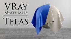 Materiales Vray Telas Lino Seda Cinema 4d Tutorial, 3d Tutorial, Photoshop Tutorial, Cinema 4d Materials, V Ray Materials, Vray Tutorials, 3ds Max Tutorials, Cinema 4d Render, 3d Max Vray