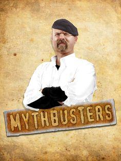 Mythbusters by Martin Echeverria, via Behance